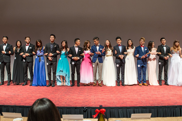 Official Evening Wear for NTU Nanyang Business School Pageant 2015