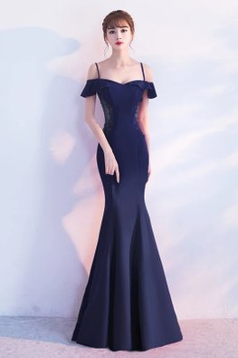 Assorted Colours Sweetheart Neckline Open Back Trumpet Gown