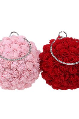 Assorted Colours Blossom Purse