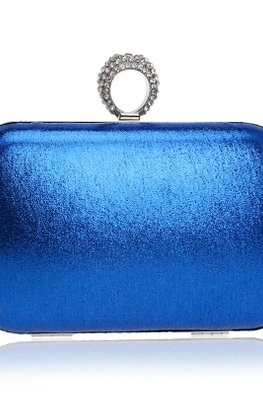 Assorted Colours Rectangular Clutch Bag