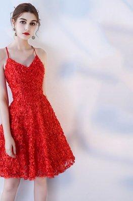 Assorted Colours V-Neck Crossback Dress
