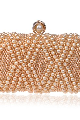 Assorted Colours Diamond Pearl Globe Clutch