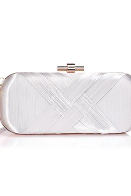 Assorted Colours Long Double Cross Clutch Bag