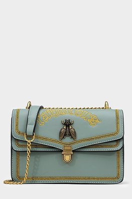 Assorted Colours Fabulous Embroidery Bee Bag