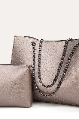 Assorted Colours Shoulder Diamond Etched Bag