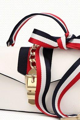 Assorted Colours Vintage Duo Strap Shoulder Bag