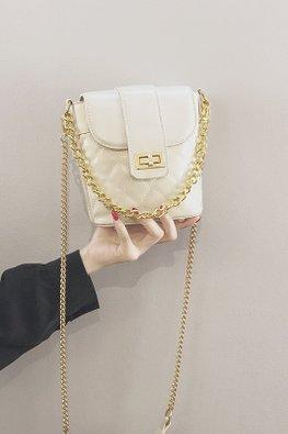 Assorted Colours Mini Bucket Chain Bag