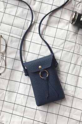 Assorted Colours Handphone Pouch Sling Bag