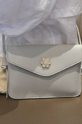Assorted Colours Floral Jewel Mini Sling Bag