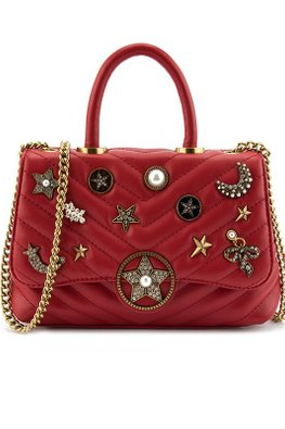 Assorted Colours Stars & Moon Bag