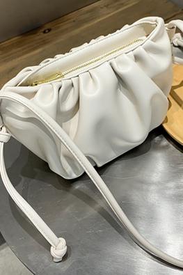 Assorted Colours Dumpling Sheepskin Leather Bag